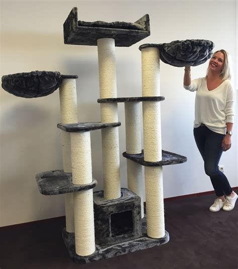 Maine Coon Fantasy Cat Tree (Grey) | LOWEST PRICES