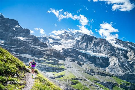 Trail running Swiss Alps: The Lauterbrunnen to Grindelwald