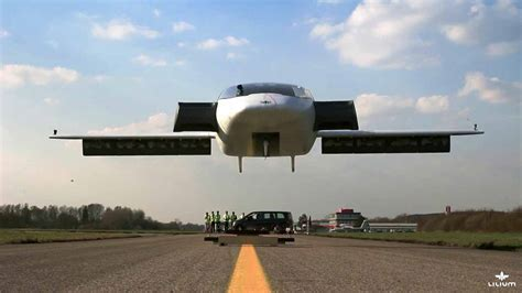 World's First Electric Vertical Takeoff And Landing Jet
