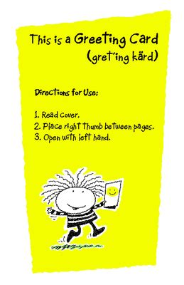 Directions for Use Greeting Card - Thinking of You