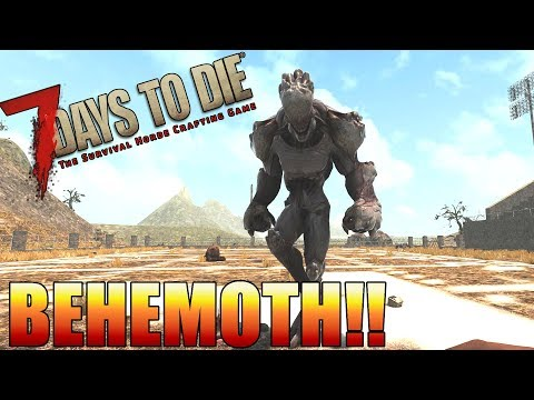 7 Days to Die - How to use Drawbridges as Barricades