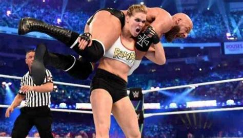 WWE: 'World class athlete' Ronda Rousey set for storied