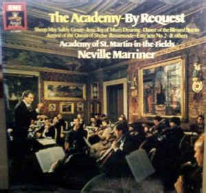 Nevillle Marriner*, The Academy Of St