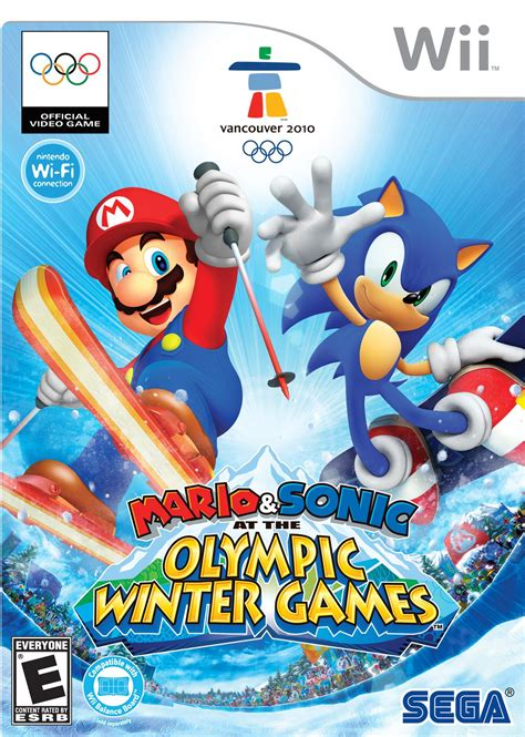 Mario & Sonic at the Olympic Winter Games (Wii) - Super