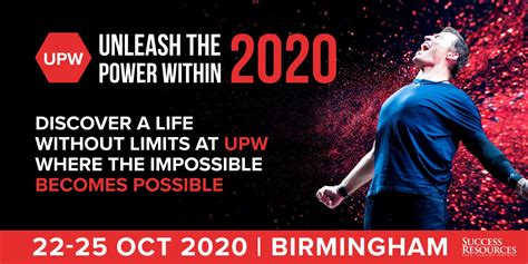 Unleash the Power Within with Tony Robbins – UPW 2020