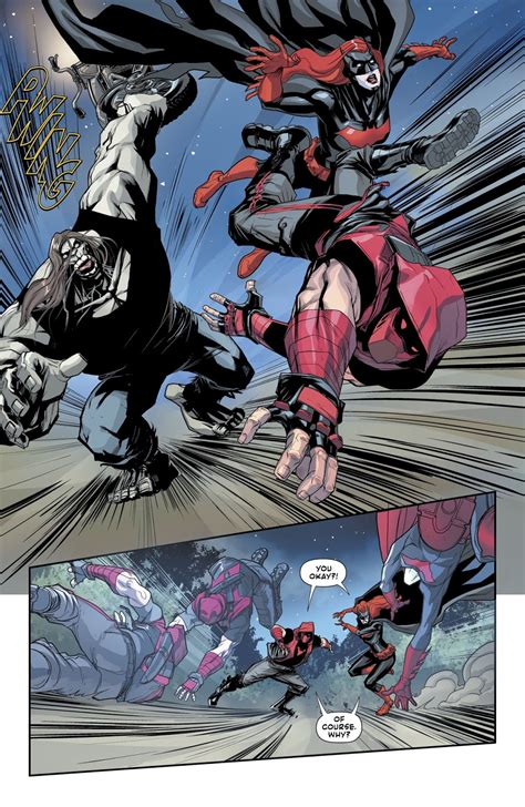 Red Hood And Batwoman VS Mondays – Comicnewbies