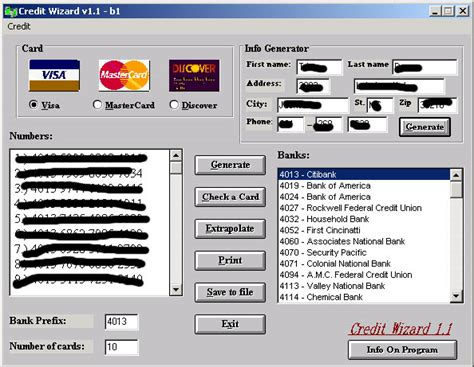 WORKING PERFECT MONEY ADDER SOFTWARES: Credit Card