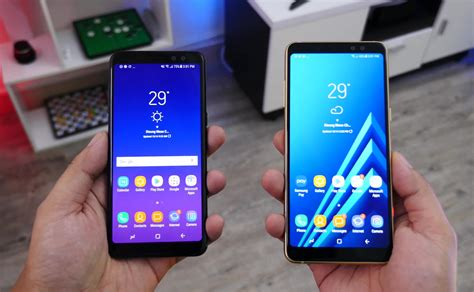 The Samsung Galaxy A6 and Galaxy A6+ coming later this