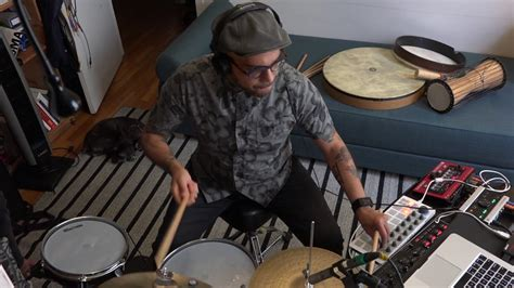 Electronic Drums, Nord Drum, Ableton and MIDI Controllers
