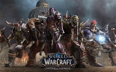 Wallpaper World of Warcraft: Battle for Azeroth, Horde, HD