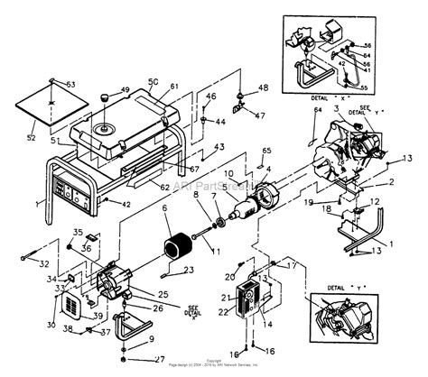 Briggs and Stratton Power Products 9802-0 - MC4000 Parts