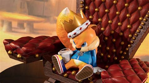 Conker's Bad Fur Day statue available for pre-order from