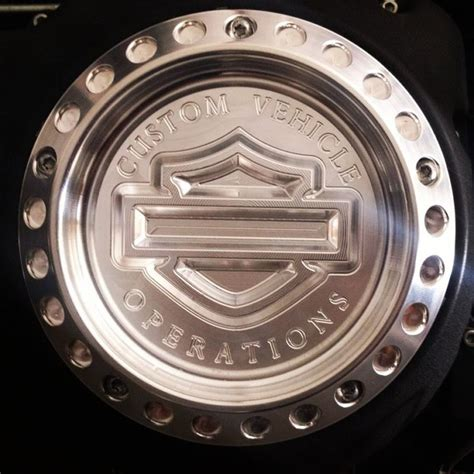 Harley Davidson Derby Cover - Your State - Machined
