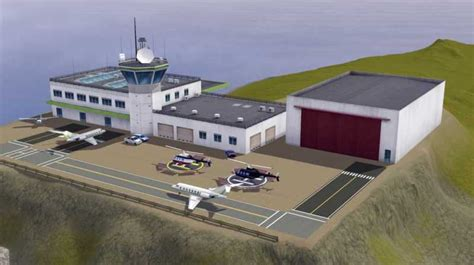 My Sims 3 Blog: CAW Criquette's Airport from Sims 2