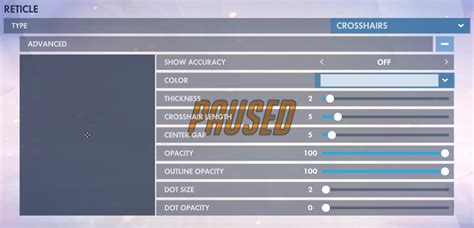Can We Get a Crosshair With Negative Color? : Overwatch