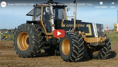 Super SWEDTRAC -- PURE SOUND | Tractor Pulling Sweden 2018