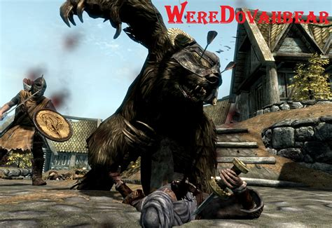 Werewolf Replacers Player Only SE at Skyrim Special