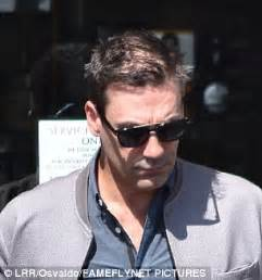 Jon Hamm reveals he's thinning on top   Daily Mail Online