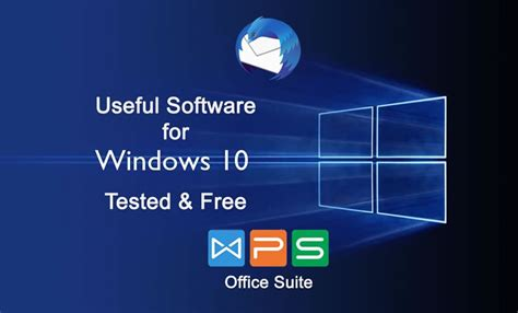 Best & Tested FREE & useful Software for Windows 10