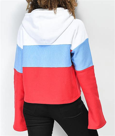 Champion Pullover Red - Womens Champion Reverse Weave Red
