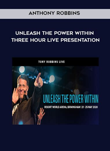 Anthony Robbins - Unleash the Power Within: Three Hour