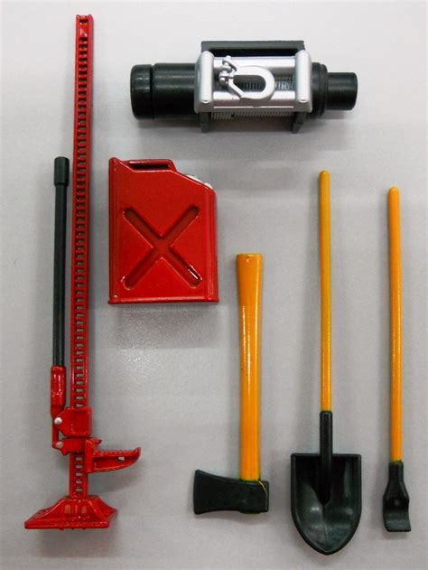 RC offroad 1-10 scale truck crawler accessory set - R/C