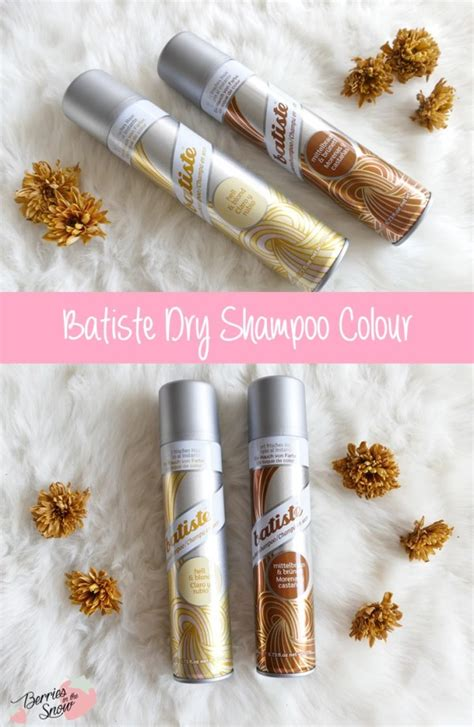 Review: Batiste Dry Shampoo Colour   Berries in the Snow