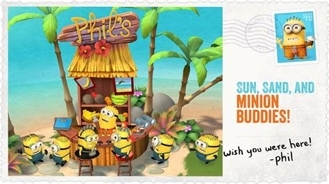 Minions Paradise (for Android and iOS) is the newest game