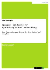Code-switching and Code-mixing   Publish your master's