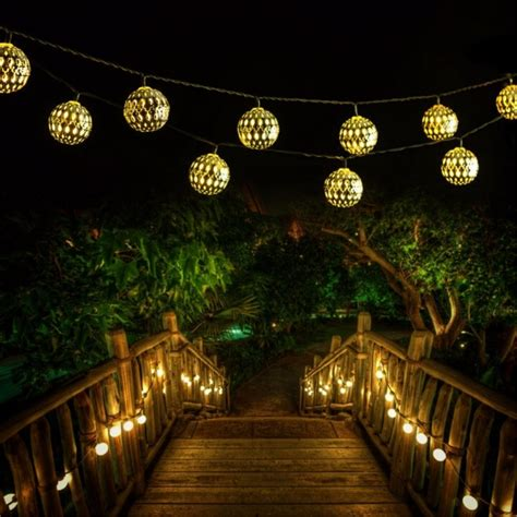 LED Globe String Lights,Goodia Battery Operated 10