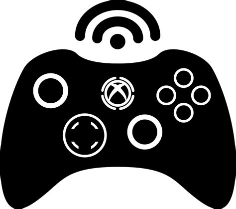 Xbox 360 Wireless Game Control Tool Svg Png Icon Free