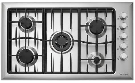 """Fisher Paykel CG365CWACX1 36"""" Gas Cooktop with 5 Sealed"""