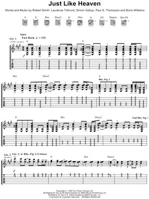 """Yes """"Owner of a Lonely Heart"""" Guitar Tab in A Major"""