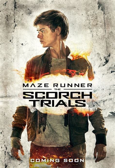 Character Posters for Maze Runner: The Scorch Trials