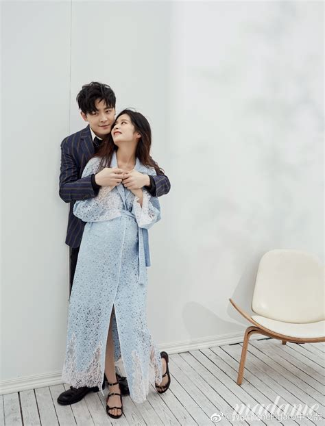 Fu Xin Bo and Ying Er couple maternity photos and baby
