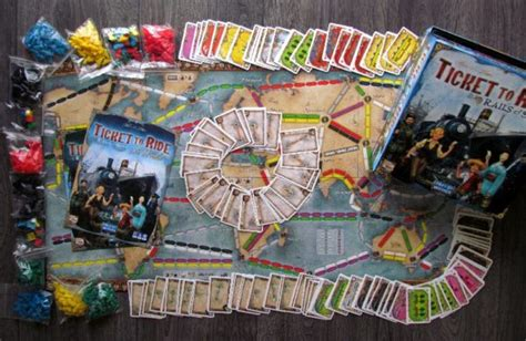 Review: Ticket to Ride Rails & Sails – trains on land and
