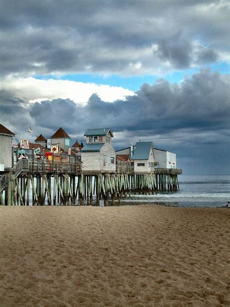 Old Orchard Beach, Maine | Old Orchard Beach is a town in