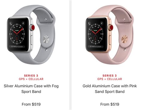 Apple Watch Series 3 Canadian Pricing Starts at $429 CAD