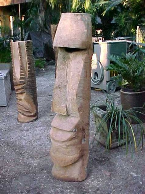 Palm Tree Charlie - hand-carved wooden tikis (I have one