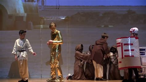 """""""Star Wars: The Stage Play"""" By The Class of 2018 - YouTube"""
