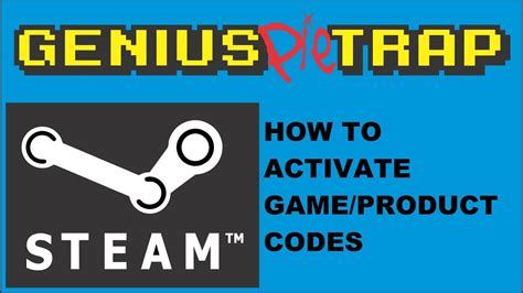How to activate Steam Keys game product code