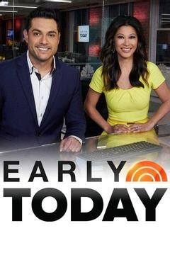Watch Early Today Online   Season 0, Ep