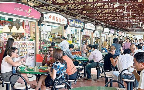 Singapore's hawker centres: masters of the stir-fry