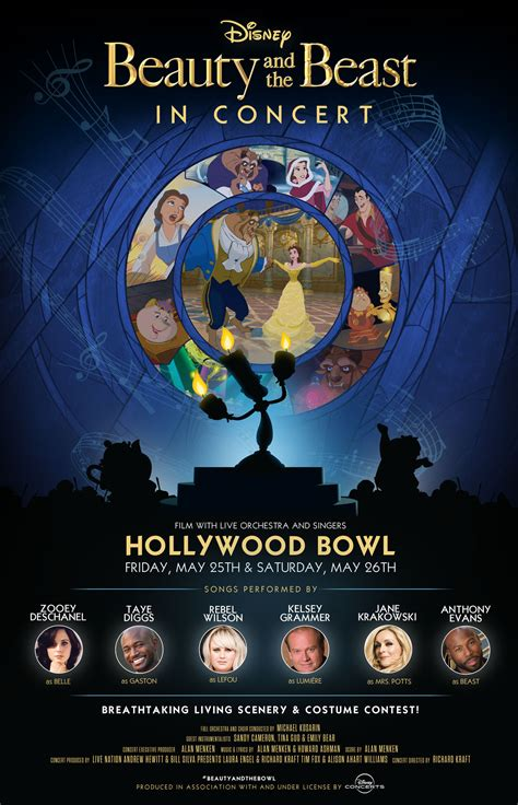 Beauty and the Beast Is Coming to the Hollywood Bowl and