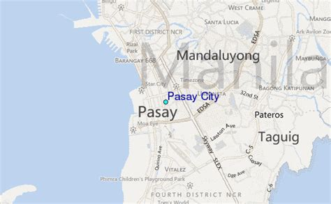 Pasay City Tide Station Location Guide