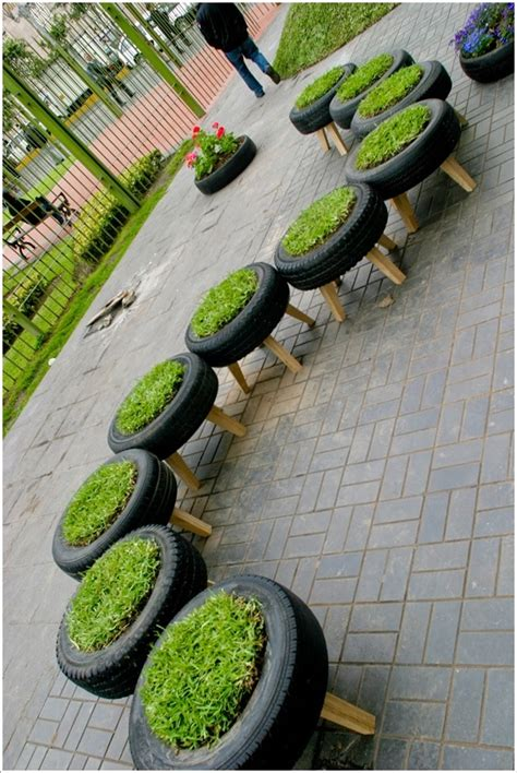 15 Wonderful Ideas to Upcycle and Reuse Old Tires